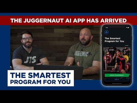The JuggernautAI App Has Arrived | The Smartest Program for You Juggernaut Training Systems, Juggernaut Training Systems