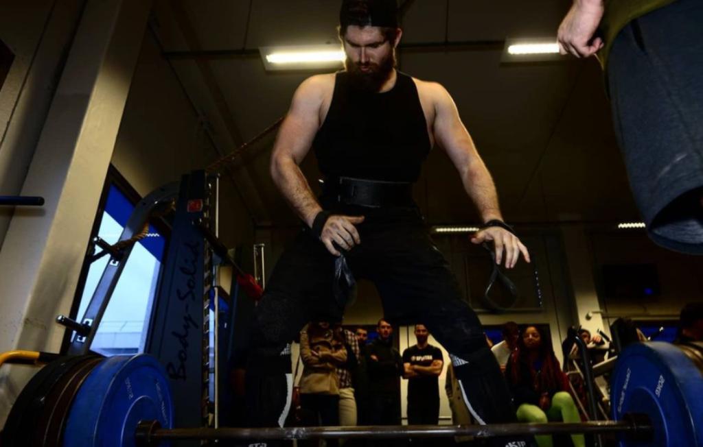 Antoine serpe- handball, powerlifting
